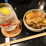 近江牛と有機野菜の呑処 ひだまり - グランメールと焼酎