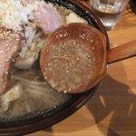 麺や 阿修羅 - スープ