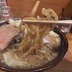 麺や 阿修羅 - 極太麺