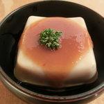 9849663 - 胡麻豆腐・300円
