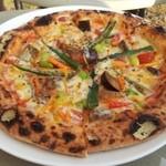 いしがまや - 旬野菜のピザ