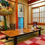 寿司・創作和食 剣寿司 - 竹ノ塚駅からバスで20分位。