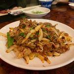 馬記 蒙古肉餅 - 羊肉のクミン炒め 1280円