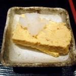 魚や一丁 - 定食の玉子焼き