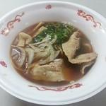 麺や たけだ - 【紀州ラーメンWスープしょう油】¥650