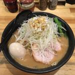ぼっけもん - 料理写真:ネギ味噌ラーメン(930円)+味玉(100円)