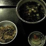 985900 - サロマセット(かけorもりそば&牡蠣天丼)