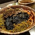 98500314 - 静岡海苔とメカブの冷やし蕎麦 会津在来種外一微粉