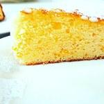 レストラン道 - 12月16日、現在のケーキは柚子とハチミツのバターケーキですオムライスセットには、無料ご提供します。