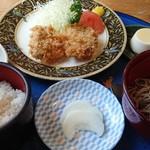 賛久庵 - 料理写真:ヒレカツ膳(¥1,680)