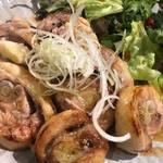 肉×野菜バル WTe - よだれ鶏