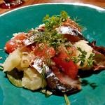 28&Vin - 料理写真:鯖スモークとジャガイモのサラダ