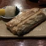 ウミネコ - 料理写真:太刀魚の塩焼き