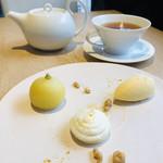 98508363 - 白を基調とした、儚く柔らかな黄色のデセール♡