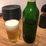 鉄板食道 飯蔵 - 「ハートランドビール(小瓶)」