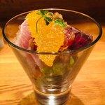 メリメロ亭 - 鰹のオレンジのせ