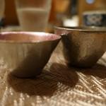 98510184 - 錫で嗜む日本酒