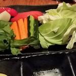 すず家 - 朝獲れ野菜(フルサイズ)