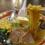 えぞっこ - いただきます、縮太麺です。