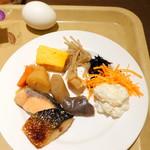 ヴィラッツァ - 朝食ビュッフェ1,836円、和食系