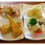 himawari - デリランチプレートは多品目で美味しいランチ★