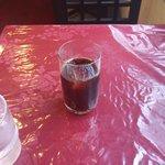 チャイナドール - 食後のアイスコーヒー。