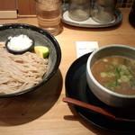98521305 - つけ麺(並盛)(850円)+味玉(100円)