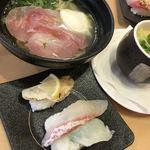 かっぱ寿司 - 期間限定のラーメンとお寿司