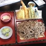 和み - 料理写真:十割天ざるそば1500円