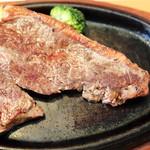 シーダー・マウンテン - 料理写真:ランチタイムステーキ 牛モモ200g