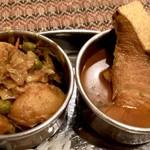 Puja - 寒ブリ、じゃがいもと野菜