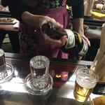 久村の酒場 - 日本酒270円税別