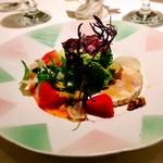 98533429 - 海の幸と元気野菜のサラダ カレーバジル風味