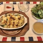 ブラッスリー ブルー - お米とお魚の定食¥1100