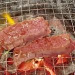 焼肉ポパイ - 厚切りの特上ハラミ