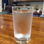 98536164 - なんてグラス綺麗なんでしょう❤お水
