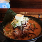 すすきのらぁめん 膳 - 料理写真:味噌ラーメン バタートッピング