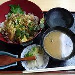 田川家 - 煮あなご丼¥1000