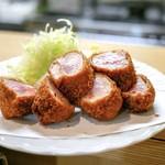とんかつ野崎 - 料理写真:☆ひれとんかつ 野崎風 1180円