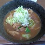 道の駅 白山文化の里長滝 - 料理写真:鶏ちゃんラーメン 700円