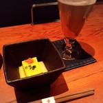 神楽坂 SHUN - お通し \518