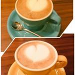 cafe & meal greenhorn - カフェラテ