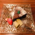 cafe & meal greenhorn - ガトーショコラ