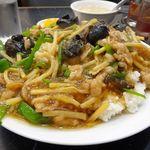 中国料理 登龍 - 青椒飯(大盛)830円