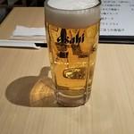 水戸庵 - 生ビール 580円♪