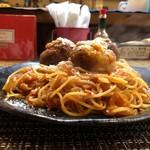 スパゲッティ専門店 タブキ - イタリアンカニコロ盛り具合よろし
