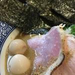 98543197 - 特製濃厚煮干蕎麦(アップ①)