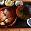 活魚問屋 海寶 - 料理写真:握り寿司定食1400円