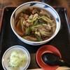 やぶそば - 料理写真:鴨なんばん蕎麦 田舎(1,300円)