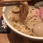 中華蕎麦 蘭鋳 - 味玉そば 大盛り  穂先メンマ リフト